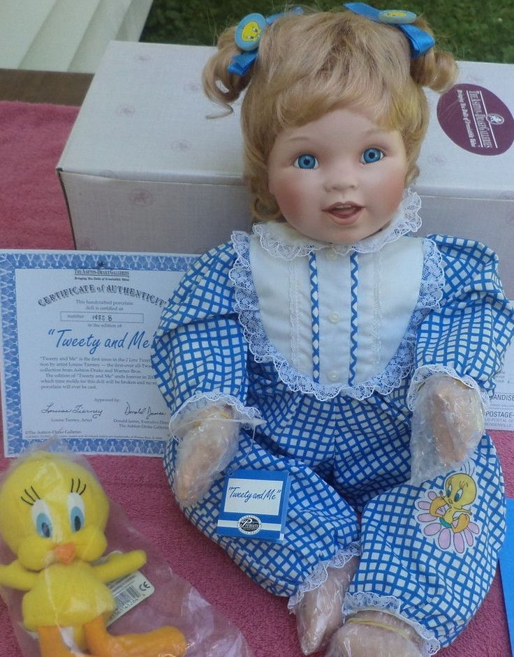 Quot Tweety And Me Quot Porcelain Ashton Drake Baby Doll With Her