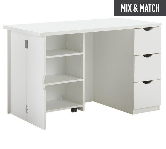 Buy Hygena Folding Storage Desk at Argos.co.uk, visit Argos.co.uk to shop online for Desks and workstations, Office furniture, Home and garden