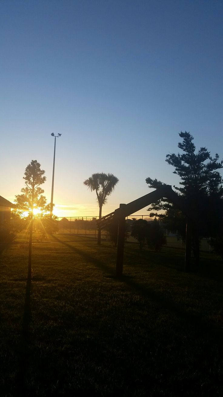 New Zealand's beautiful sunset at chanel college grounds  #sunset #nzbeauty #natural #nofilter #phonequality