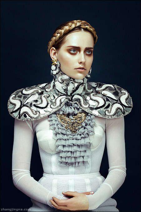 The Look: Renaissance - Harper's Bazaar Vietnam 'Nu Renaissance Aristocracy'