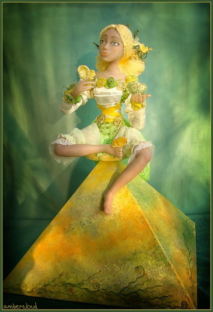 Коллекция Времена Года - Лето *** doll, dollart, hand made, ©ambercloud, авторская кукла