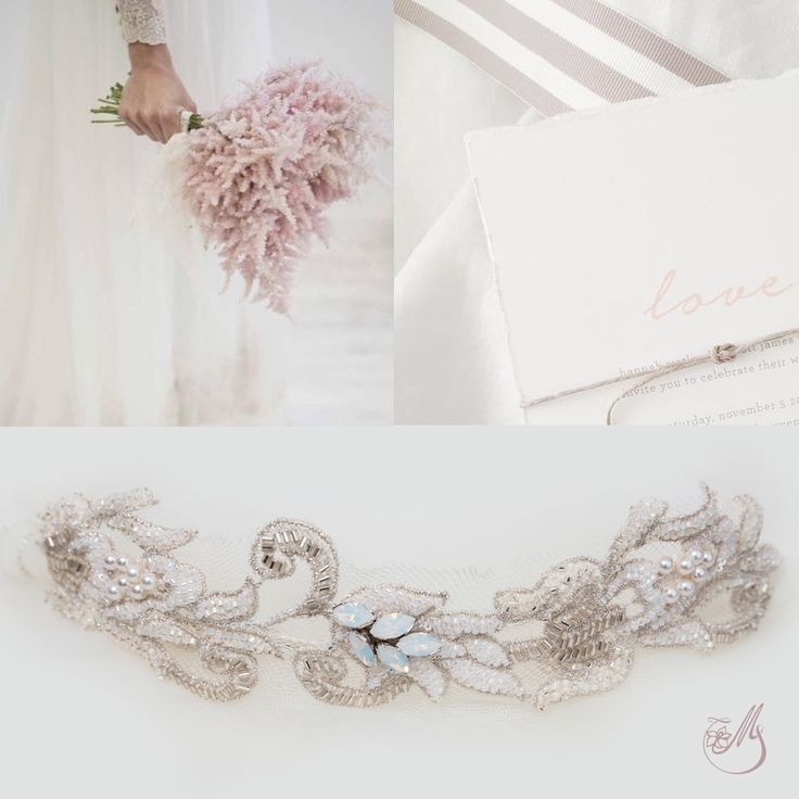A delicate and #romantic #accessory is everything you need to make a simple #bridal #outfit shine! Take a look at our #wedding #moodboards and come visit us in our #magnoliaatelier at 12 Dobrota Street to choose the most spectacular pieces. #lovehimbeforeyousayyes #bridalcollection #bridaladornments #accesoriimirese #bohobride #bridal2015