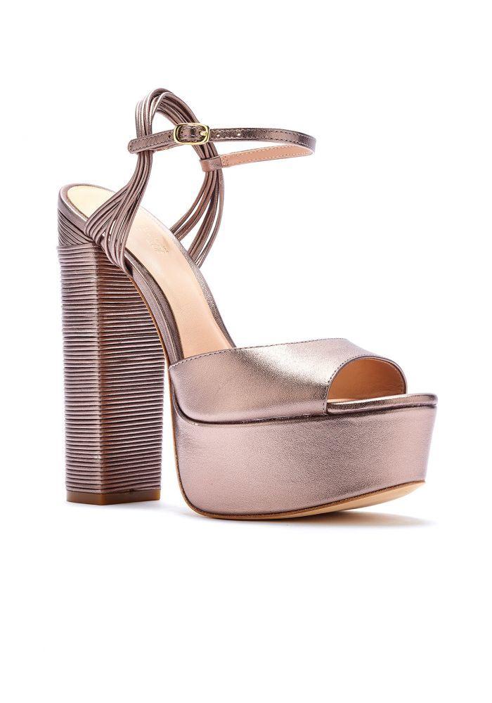 0acb7e17aef37d Rachel Zoe Willow Metallic Leather Platform Sandals