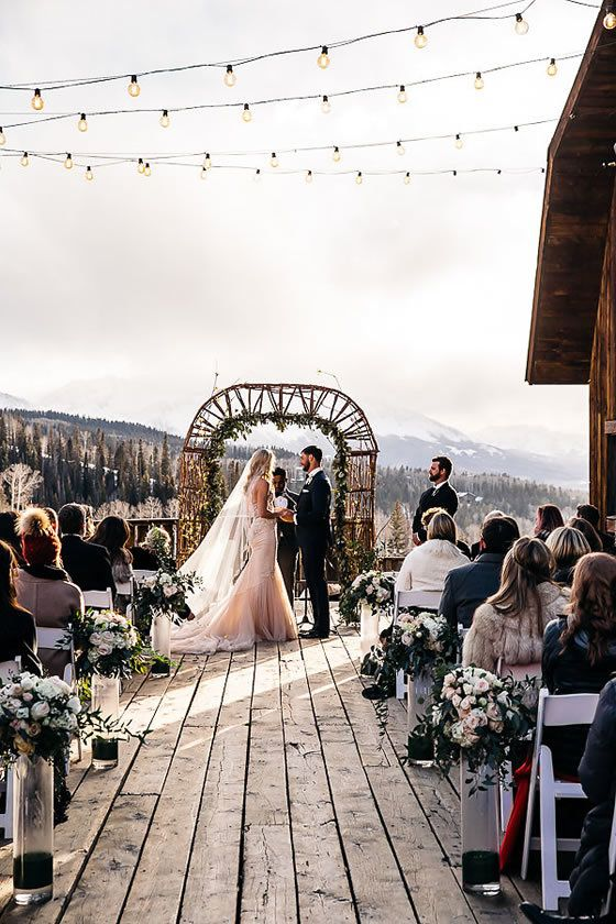 Dreamy Mountain Wedding At Telluride Ski Resort Venues In Co Find Your Colorado Venue On Here Comes The Guide