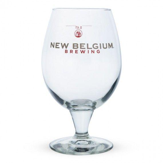 New Belgium Brewing Co. Belgian Beer Glass - 16 oz