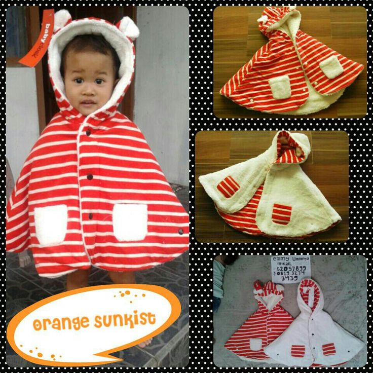 #BabyCape #JaketSelimut #OrangeSunkist BBM:52057899