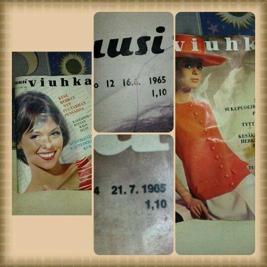 #uusiviuhka #lehti #mökkilife #mökki #löytö #aarre #mökkielämää #1965