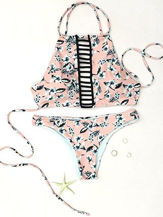 It's time to say yes. Hot sale at $19.99 for the bikini season.Strut your gorgeousness in confidence with this Cross Back Bikini Set. More sweet swimsuits at Cupshe.com
