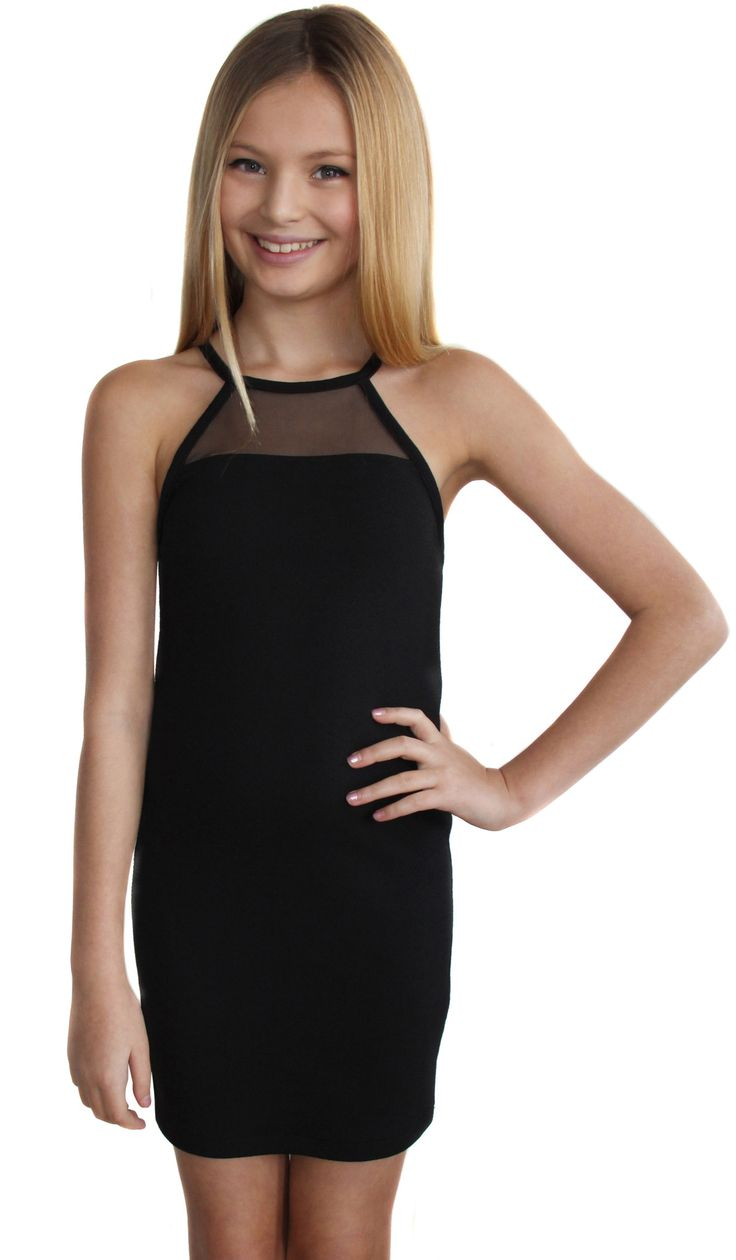 Short little black party dress with back cut outs - The Amber Dress 2634