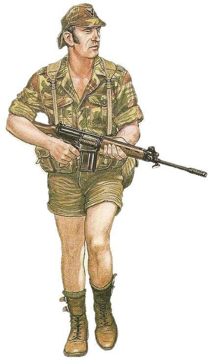 RLI Rodhesian Bush War, pin by Paolo Marzioli