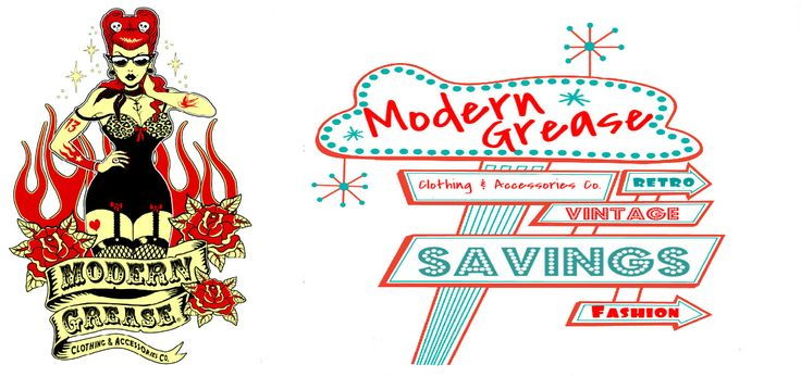 Vintage Inspired | 1940's | 1950's | Rockabilly | Modern Grease Clothing & Accessories Co.