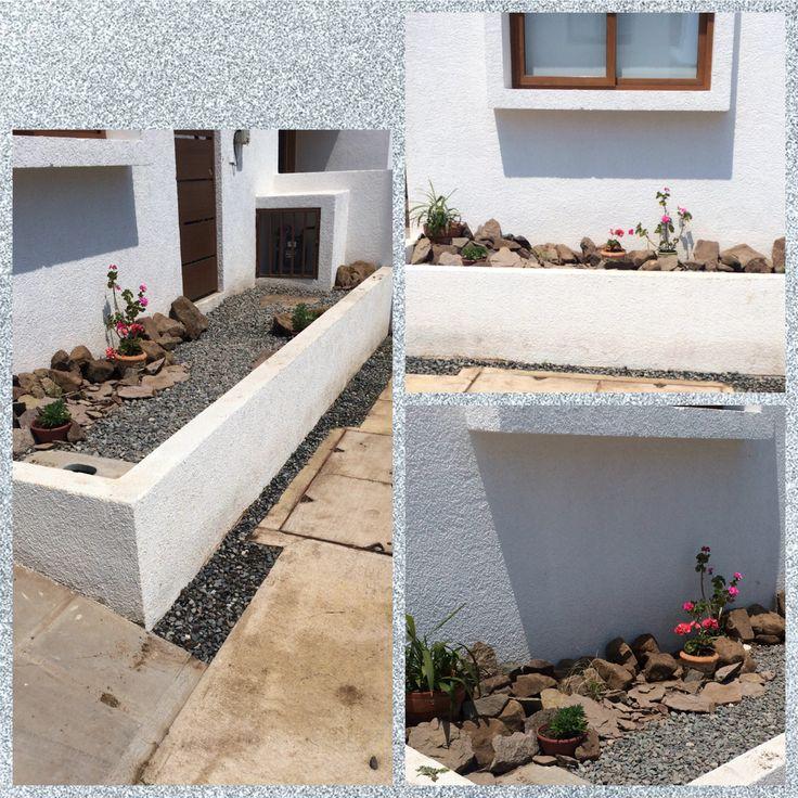 Jardin seco con ricas rusticas