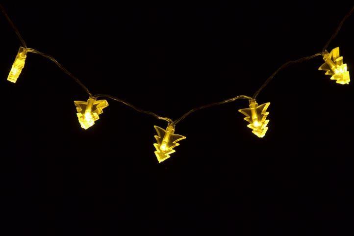 Lampki świąteczne na baterie - Śnieżynki Polandi