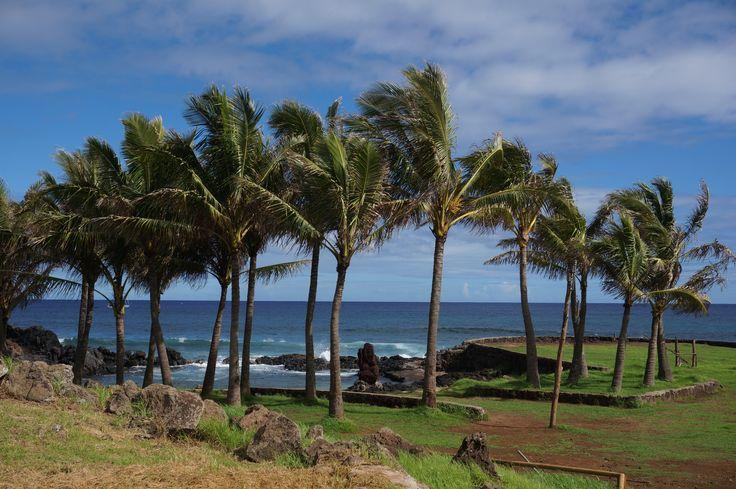 Plage de l'île de Pâques / Easter island beach