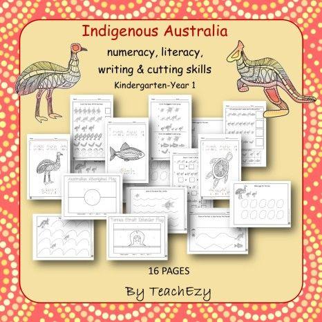 Indigenous Australia Activities K/1