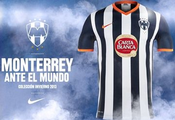 CF Monterrey Nike 2013 FIFA Club World Cup Home Jersey