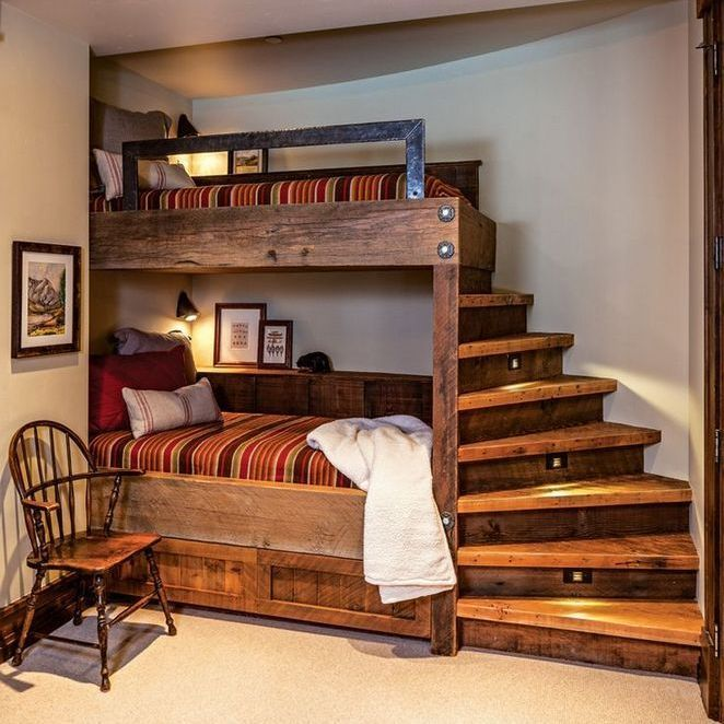 45 Finding The Best Girls Shared Bedroom Ideas Bunk Beds Small Rooms 62 With Images Warm Bedroom Home Decor Bedroom Design