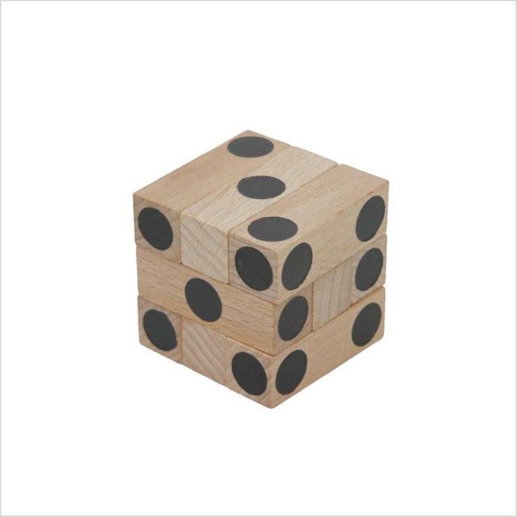 "Joc de logica Montessori ""Cub"""