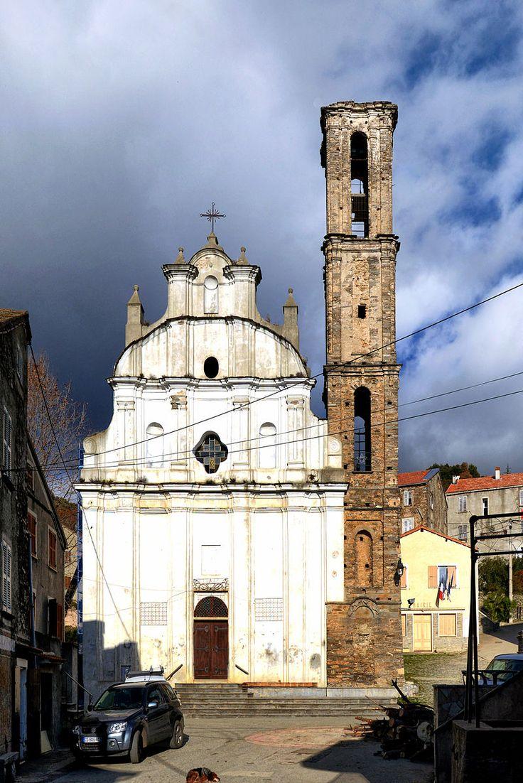 Région di Corti - Piedicorte-di-Gaggio Église Notre-Dame de l'Assomption