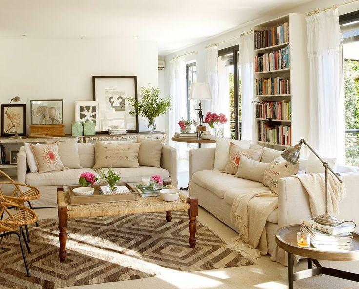 Living Comedor Sala De Estar ~ de Interiores & Arquitectura Casa Decorada con Elementos de Madera de