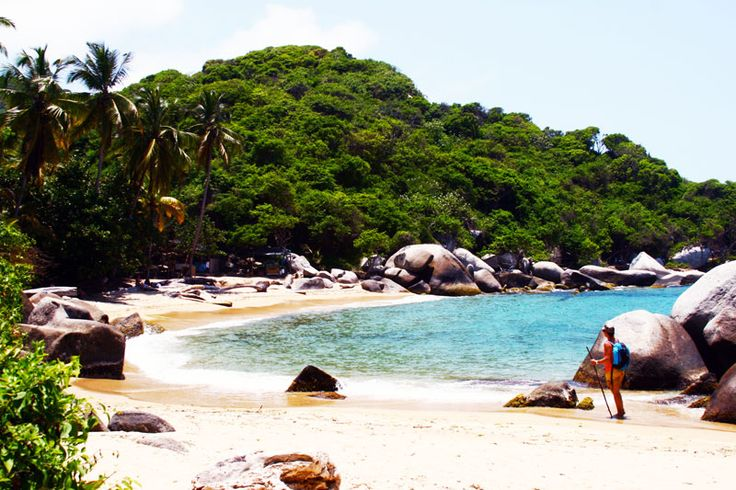#Postcard from Tayrona Park Colombia - Amazing beach