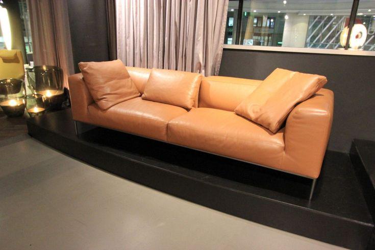 Sofa Frank Von Bebitalia In Leder Braun Couch Kissen