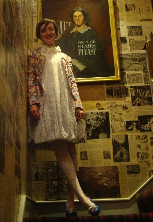 What Katie Wore At The Zetter Townhouse