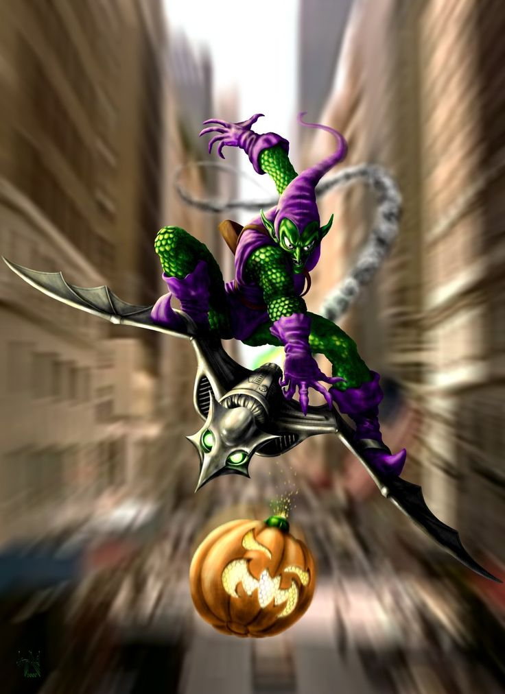 The Green Goblin Strikes by HarryBuddhaPalm on DeviantArt
