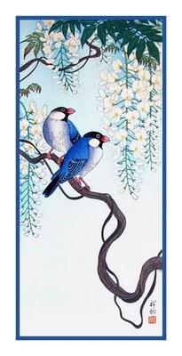 Ohara Shoson Koson Song Birds Wisteria Counted Cross Stitch Chart   eBay