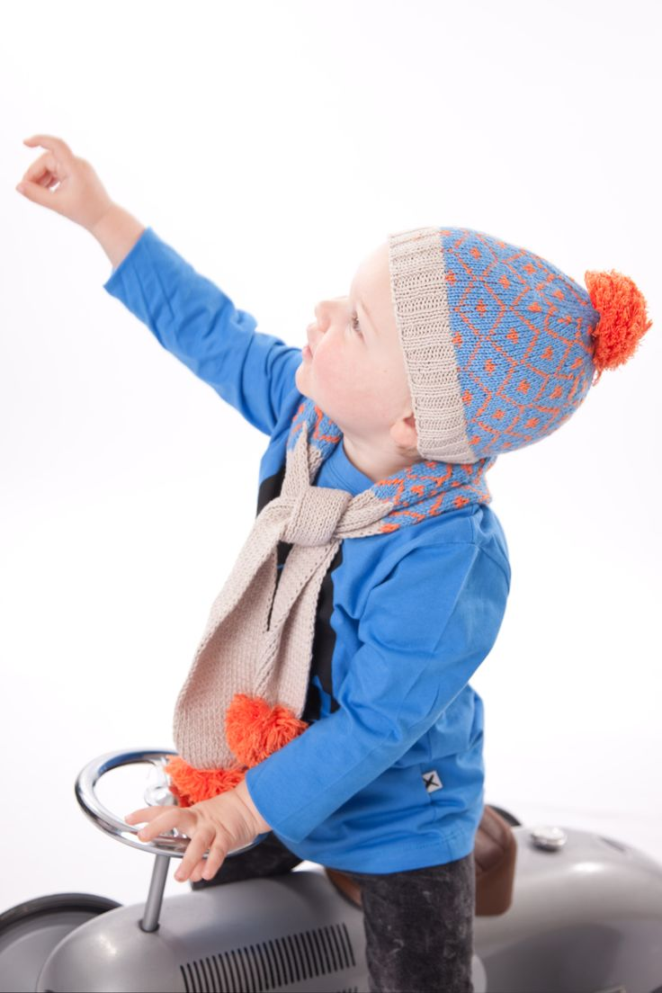 Sign of the Times Beanie combed cotton childrens hats acorn kids melbourne Australia #acornkids