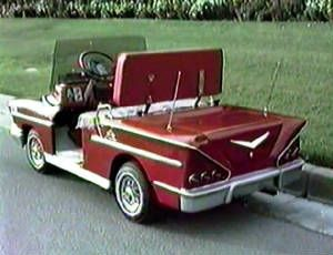 Chevy Impala golf cart ... I guess this is under the 'n More' part of this board ... lol