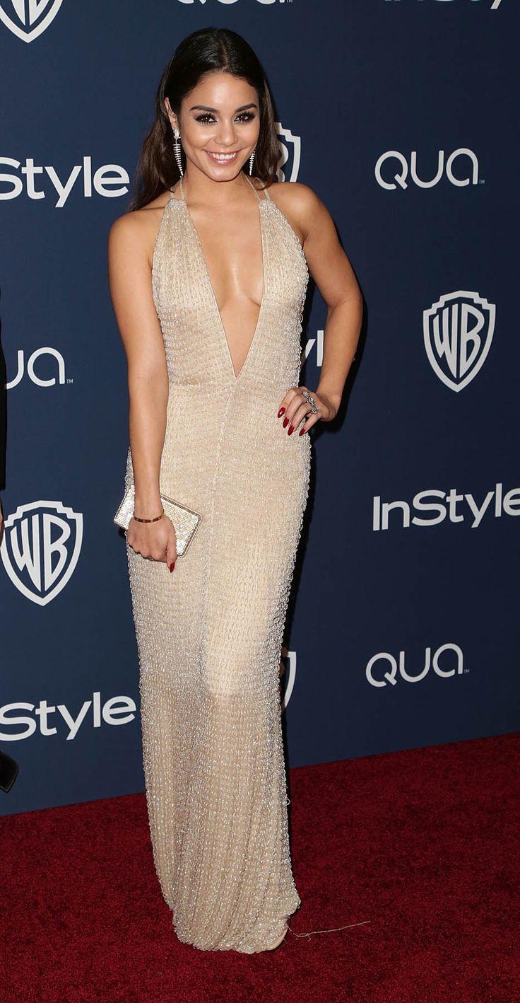 Vanessa Hudgens at the Golden Globes