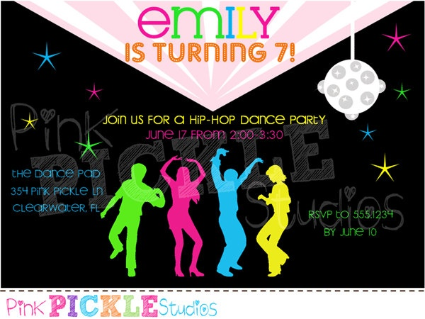 29 best {hip hop birthday} images on pinterest | birthday party, Party invitations