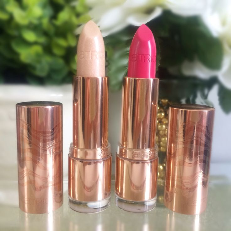 Catrice Lumination Collection - Lipsticks - Radiant Rose & Pink Mattrix