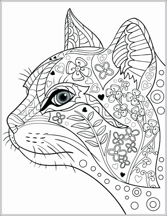 Geometric Animal Coloring Pages Inspirational Joyous Coloring Patterns For Kids Free Printable Rangol Cat Coloring Book Cat Coloring Page Animal Coloring Pages