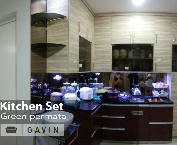 kitchen set dapur bersih