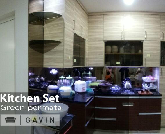 kitchen set dapur bersih