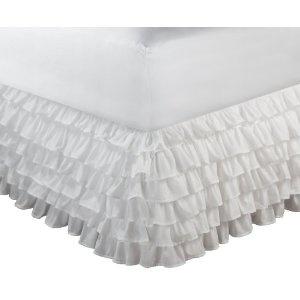 Greenland Home Multi-Ruffle Bedskirt