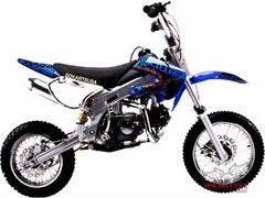 motocross 125cc sunl semi-automatica casco gratis