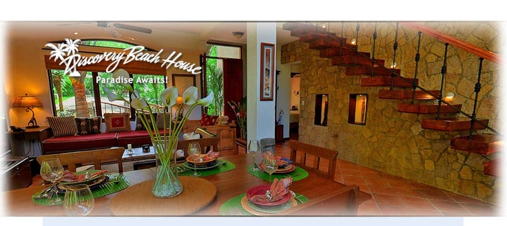 #ParadiseAwaits Costa Rica Vacation Homes Rental   Discovery Beach House   Manuel Antonio, Costa Rica