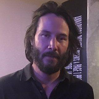 Keanu Reeves Friday 28 July 2017 at the movies #Atomic Blonde