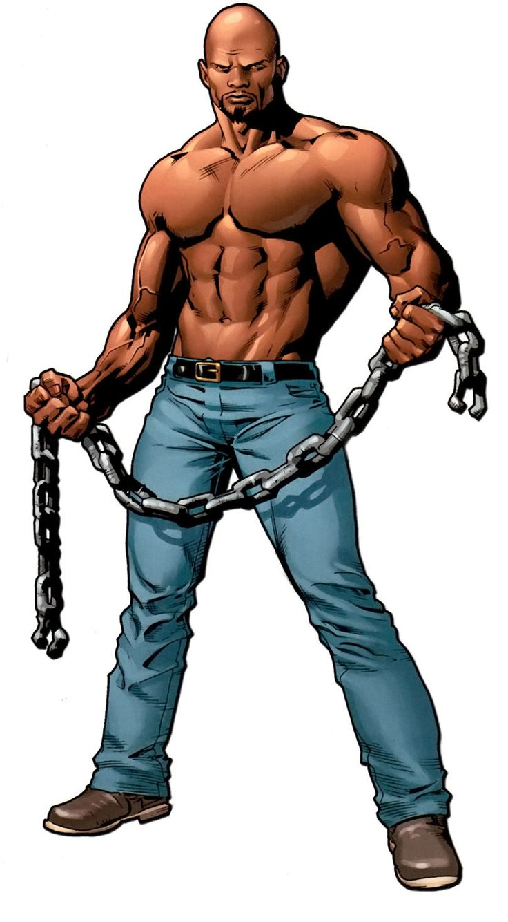 Luke Cage by Mike Deodato Jr