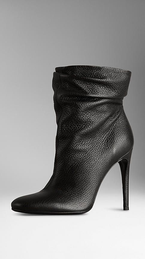 Deerskin Ankle Boots | Burberry um...wow. if they weren't $900 i'd have them