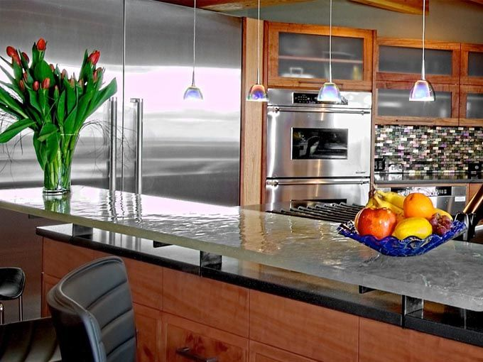 1000 Images About Glass Countertops On Pinterest Home