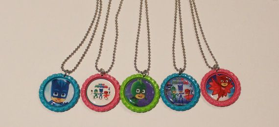 Custom Disney Jr PJ Masks Birthday Party by StinkyPinkCreations