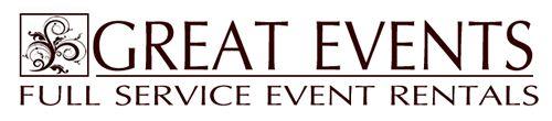 Great Events and Rentals - San Antonio Linens, tables rentals, chairs rentals,wedding rentals & party rentals, tent rentals in san antonio