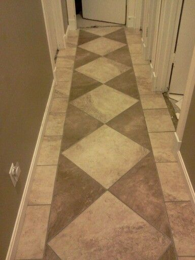 Hallway Tile Made By Me Pinterest Hallways And