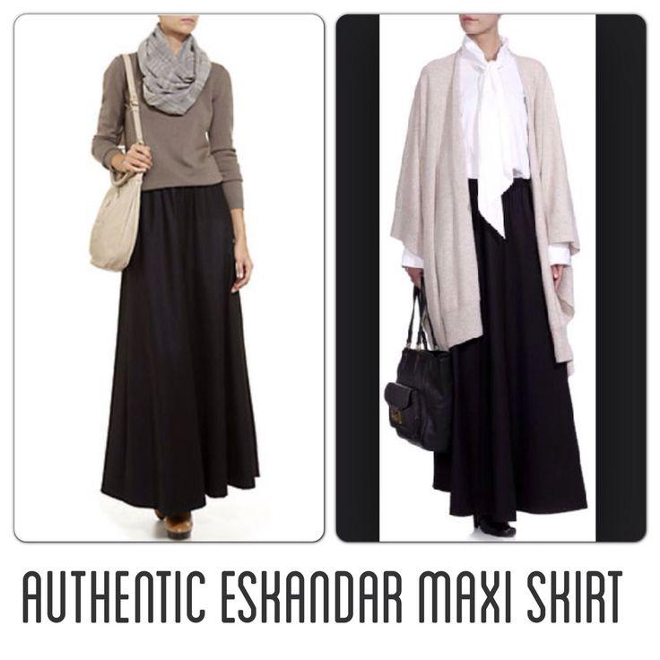 Authentic Eskandar Maxi Skirt