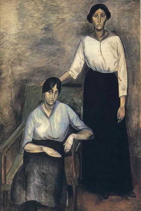 'die beiden schwestern', 1913 von André Derain (1880-1954, France)