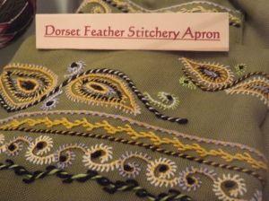 Dorset Feather Stitchery Apron - Bridport Museum, Dorset